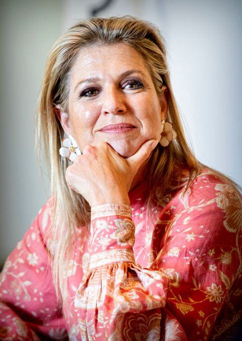 queen maxima of the netherlands visits oranje foundation project in maarssen