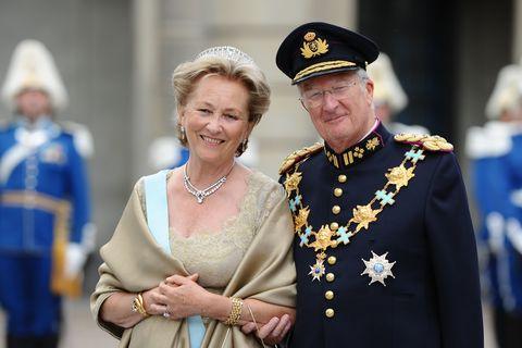 sweden   wedding of swedish crown princess victoria  daniel westling arrivals