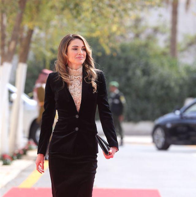 jor king abdullah attends state opening of jordanian parliament