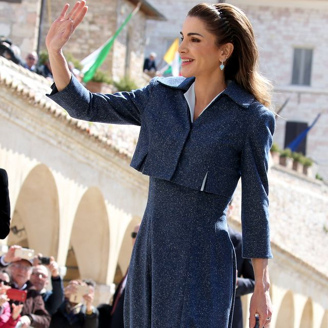 the king and queen of jordan will visit the basilica of st francis of assisi