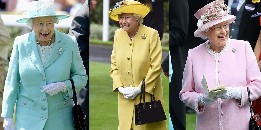 queen royal ascot happy