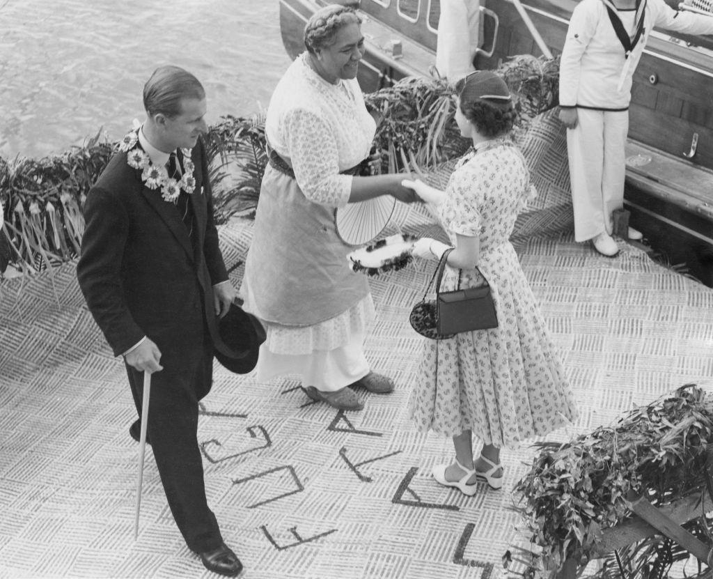 Royal Couple Leave Tonga
