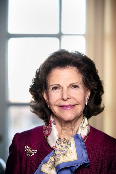 queen silvia of sweden portraits
