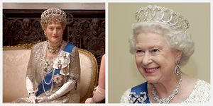 Queen Elizabeth Downton Abbey Vladimir Tiara