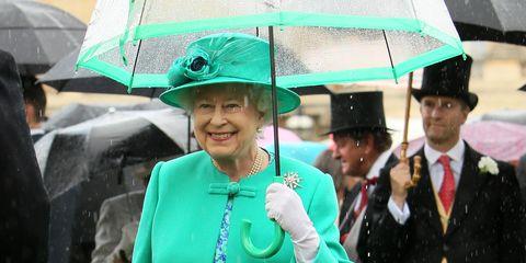 Queen colourful umbrella