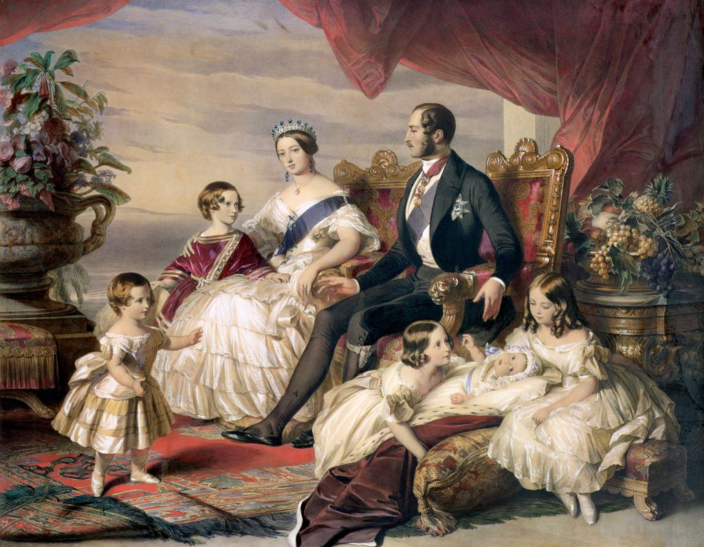 QUEEN VICTORIA AND HER FAMILY PRINT TOO !! NOW AVAILABLE AS CANVAS PRINT