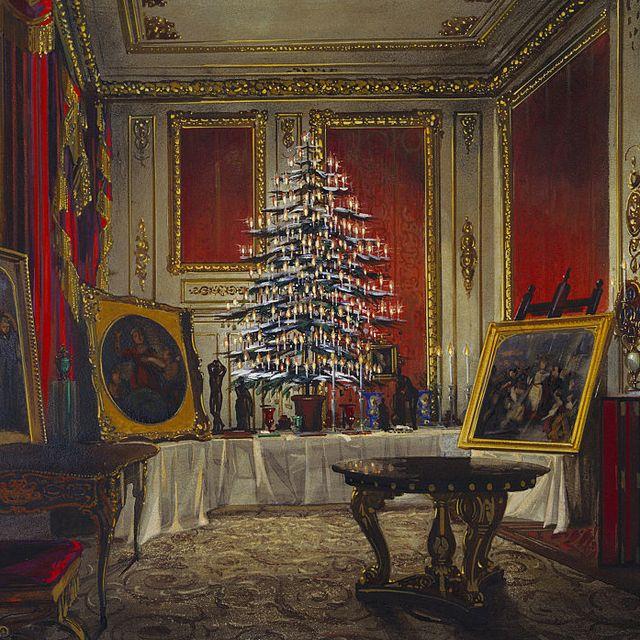 Queen Victoria's Christmas Tree, 1850