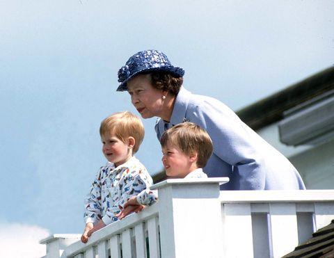 queen william and harry