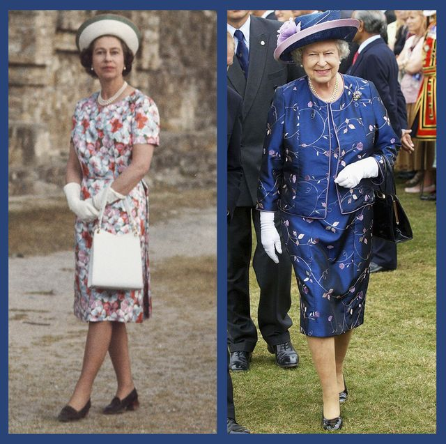 ed4e8f44d5 Queen Elizabeth Wearing Florals - 70+ Photos of Queen Elizabeth in ...