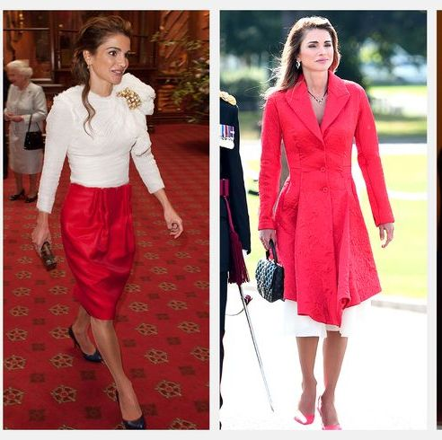 Queen Rania Of Jordan S 63 Best Fashion Moments