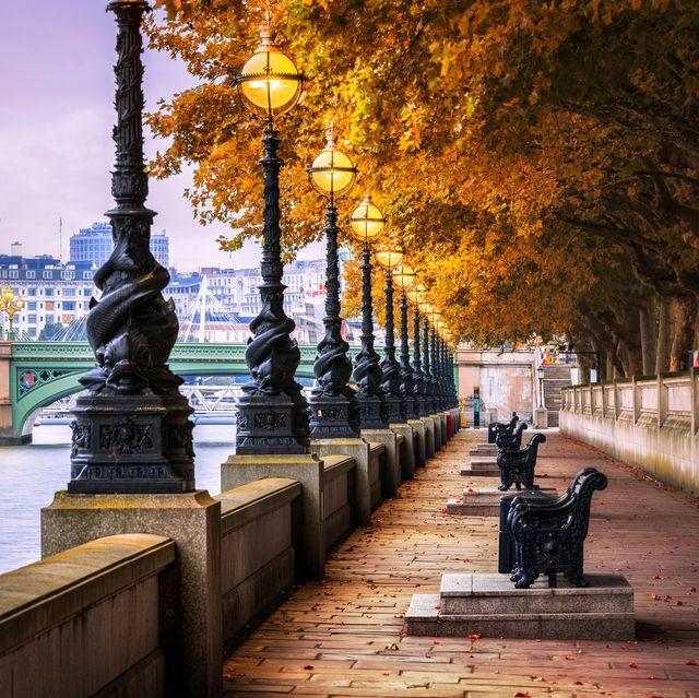 queen's walk, london, england