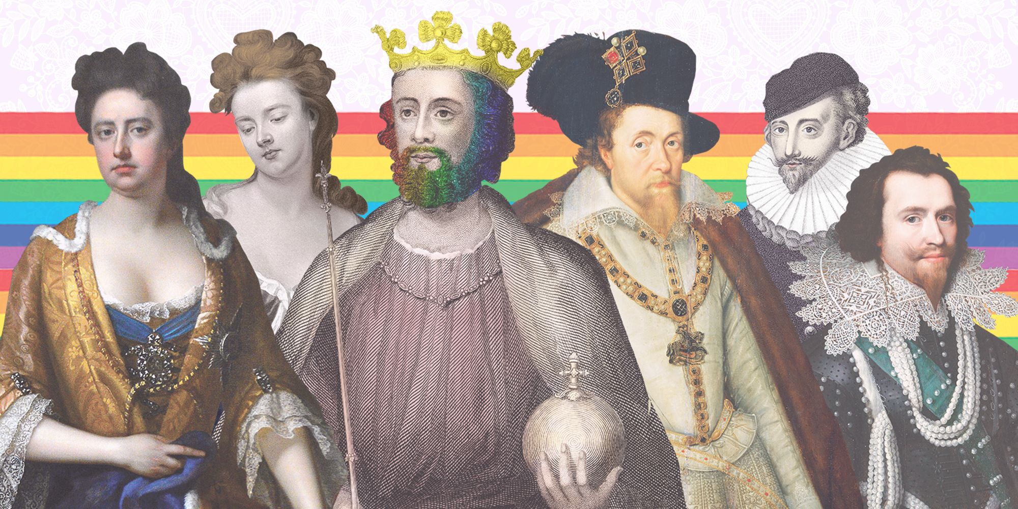 royal family queer history gay lesbian king queen