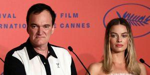 Quentin Tarantino en Margot Robbie