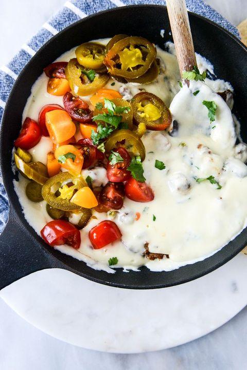 chorizo queso dip super bowl recipes