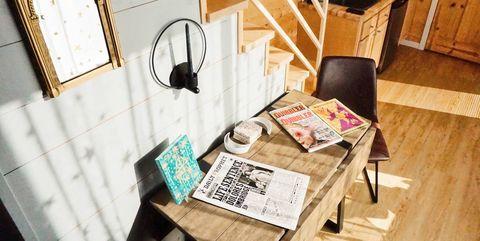 Room, Interior design, Table, House, Design, Furniture, Wood, Illustration, Home, Building,