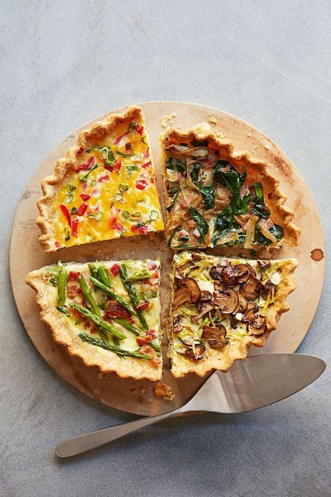 quick breakfasts - make ahead quiche