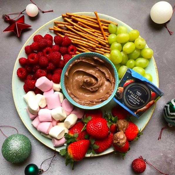 ms chocolate cream quick fondue hack