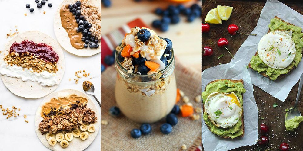 quick and easy healthy breakfasts