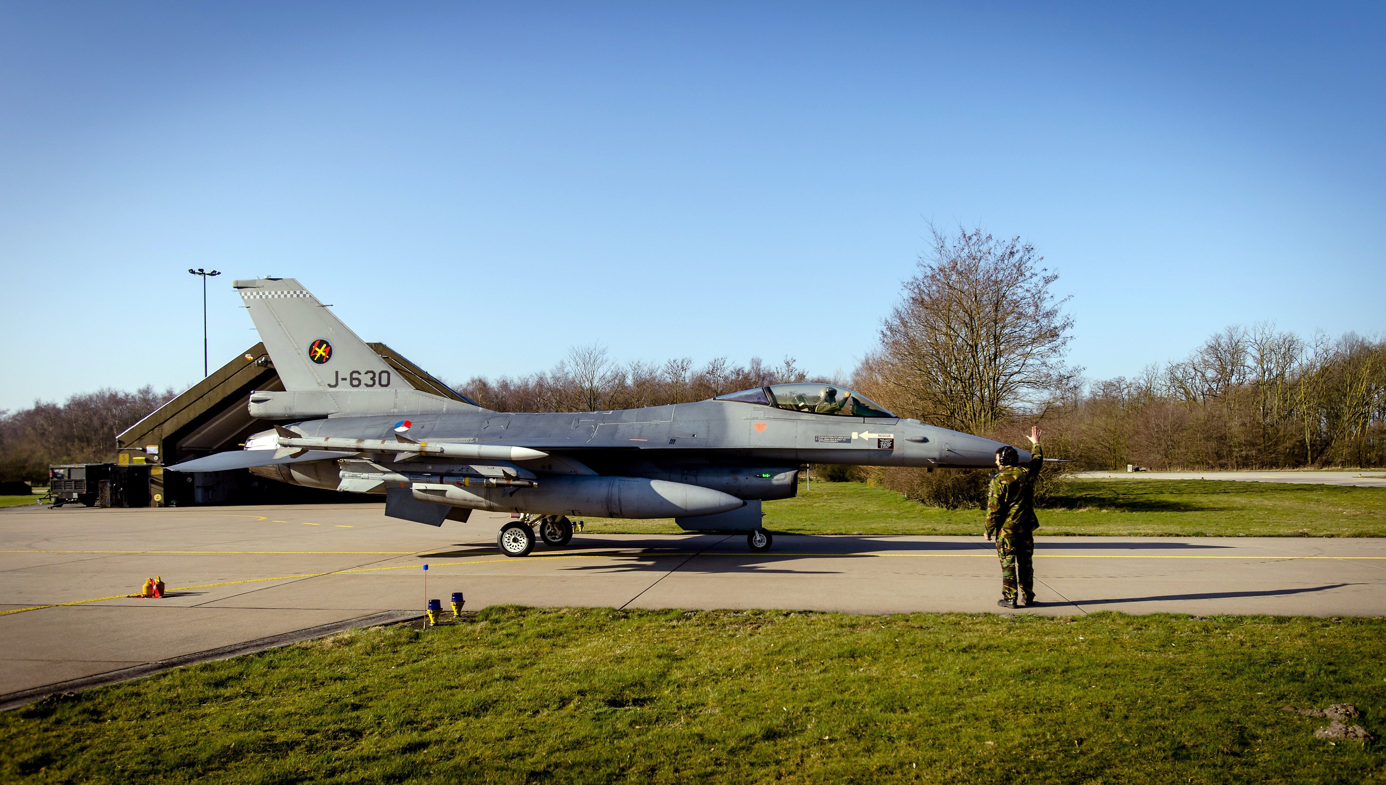 A Dutch F-16 Flew Into Its Own Gunfire