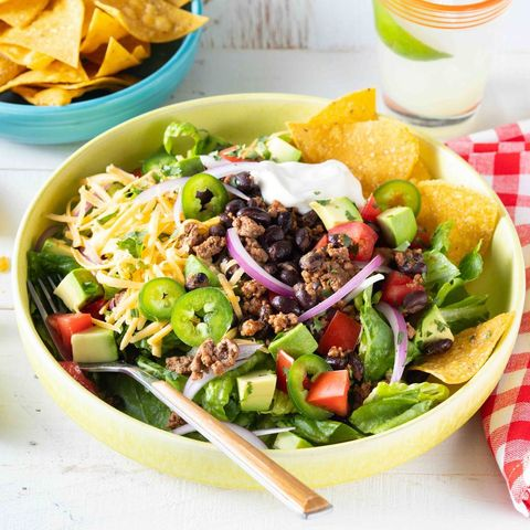 quick work lunch ideas easy taco salad