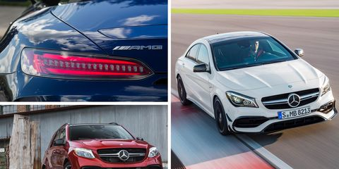 These Are The Quickest AMG Mercedes We've Ever Tested (So Far)
