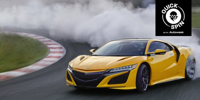 acura nsx quick spin
