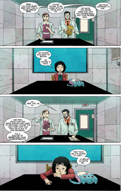 Spiderman Un Nuevo Universo Quién Es Peni Parker