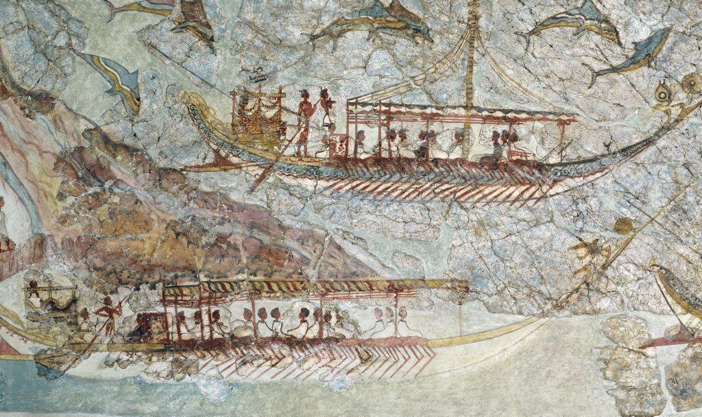 ¿Quiénes fueron los primeros navegantes que cruzaron el estrecho de Gibraltar?