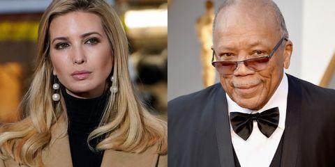 Ivanka Trump And Quincy Jones