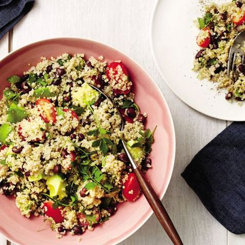 quinoa, black bean, and avocado salad recipe