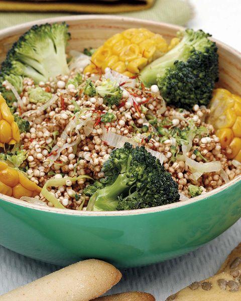 Platos saludables: Quinoa con verduras