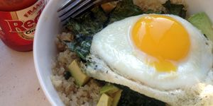 Fill Up with Quinoa, Kale, Avocado, and Egg