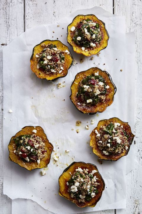 quinoa-stuffed acorn squash - acorn squash recipes