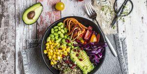 dieta alta proteina para veganos