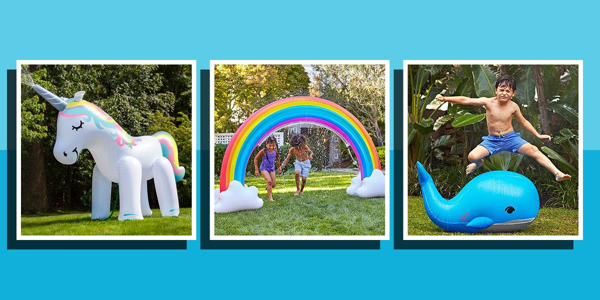 quirky inflatable sprinklers