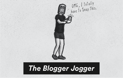 The Blogger jogger