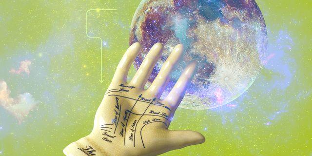 mano y luna