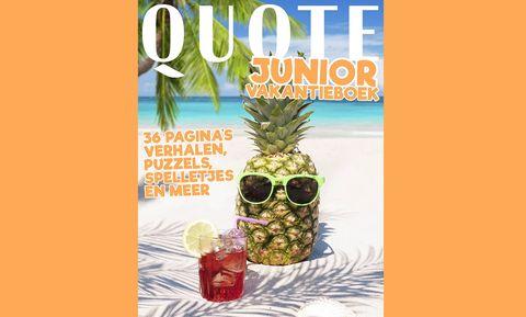 quote junior vakantieboek zomer