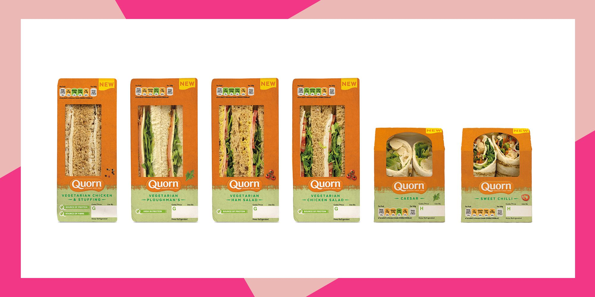 Quorn launches new lunch range and we can't wait to get our hands on it