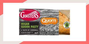 Quorn pasty