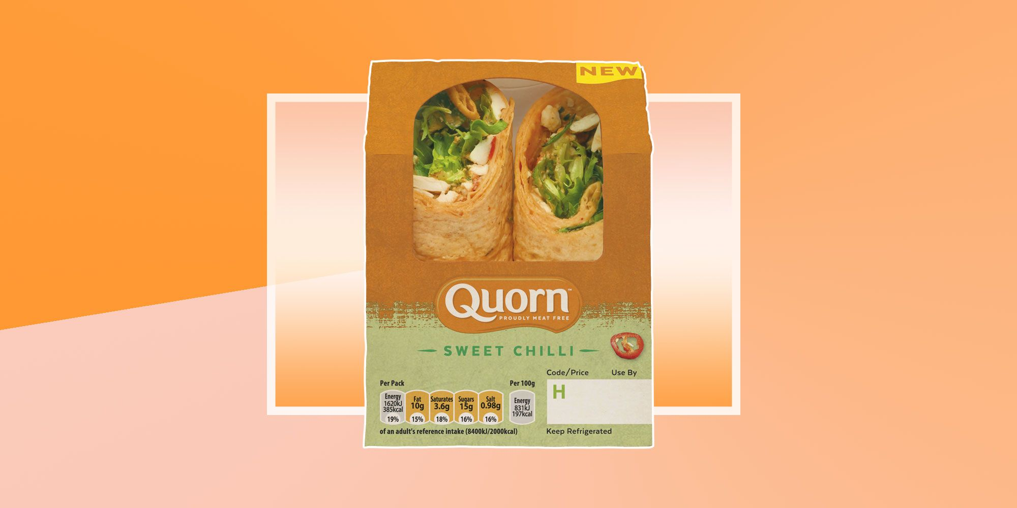 Attention: Quorn is now doing wraps and sandwiches