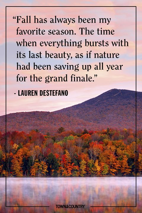 60 Inspiring Fall Quotes Best Quotes And Sayings About Autumn Fascinating My Favorite Quotes