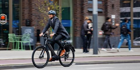 Bicycle, Cycling, Road cycling, Vehicle, Bicycles--Equipment and supplies, Lane, Helmet, Recreation, Mode of transport, Street,