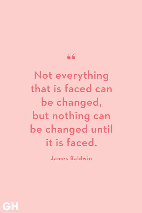 change quote by james baldwin