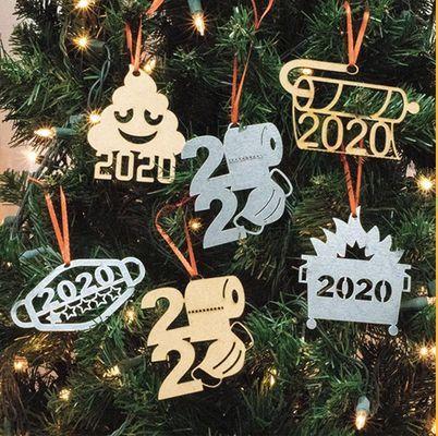 quarantine christmas ornaments