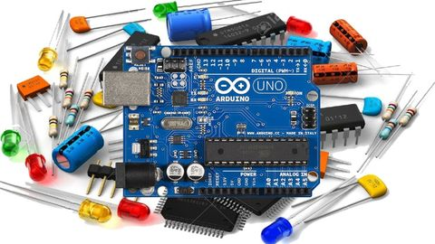 Electronic engineering, Circuit component, Electronic component, Electronics, Microcontroller, Product, Technology, Passive circuit component, Circuit prototyping, Electronic device,