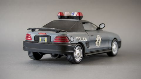 RoboCop Ford Mustang toy
