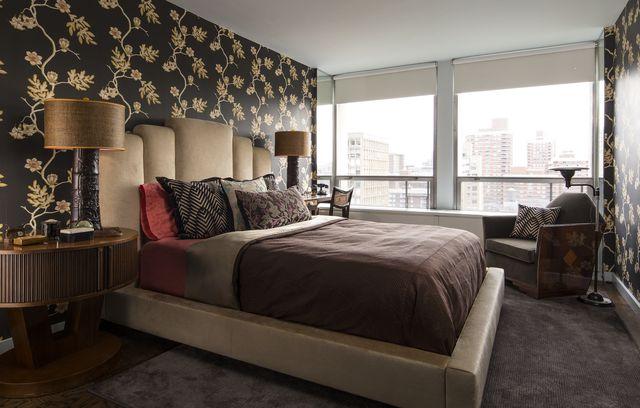 shanghai art deco bedroom