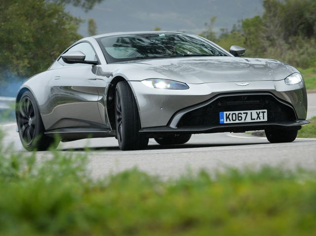 Aston Martin Vantage First Drive - Aston martin pictures