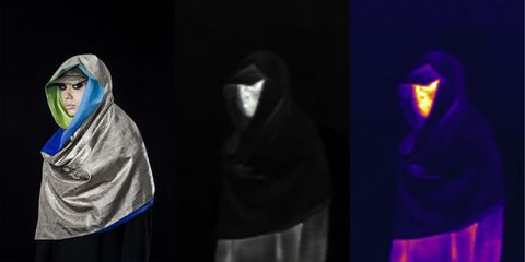 Outerwear, Performance, Electric blue, Performing arts, Stage, Drama, Darkness,